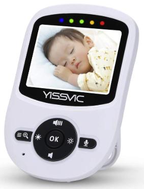 YISSVIC ベビーモニター画面