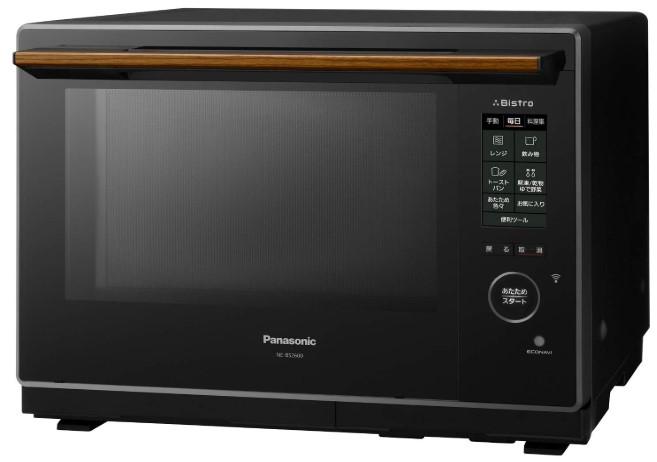 パナソニック スチームオーブンレンジ ビストロ 30L 2段調理 ブラック NE-BS2600-K