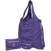 DEAN&DELUCA(ディーンアンドデルーカ) ショッピングバッグ紫