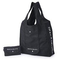 DEAN&DELUCA(ディーンアンドデルーカ) ショッピングバッグ黒