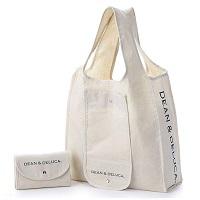 DEAN&DELUCA(ディーンアンドデルーカ) ショッピングバッグ白