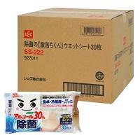 【Amazon.co.jp 限定】レック 除菌の 激落ちくん ウェットシート 30枚入×36個 (1,080枚) 大容量 ケース販売