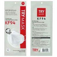 キムスヒョンCMの韓国マスクTRY KF94の通販