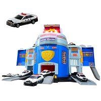 トミカのポリスステーションパトロールカー付メーカー特典つき